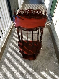 Antique Mid Century  Foyer Table/ Telephone table. with hidden drawer