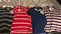 black and red striped polo shirt Dumfries, 22025