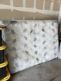 white and gray floral mattress Fort Collins, 80524