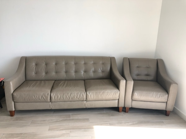 Groovy Gray Elise Green Leather Sofa And Chair Set Originally Bought From City Furniture Andrewgaddart Wooden Chair Designs For Living Room Andrewgaddartcom