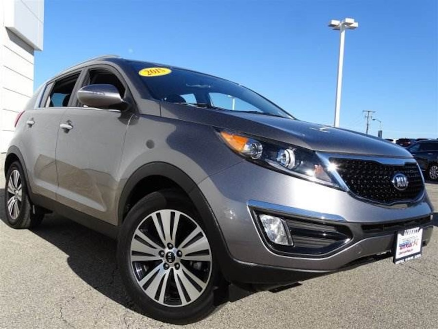 used 2015 kia sportage ex in libertyville. Black Bedroom Furniture Sets. Home Design Ideas