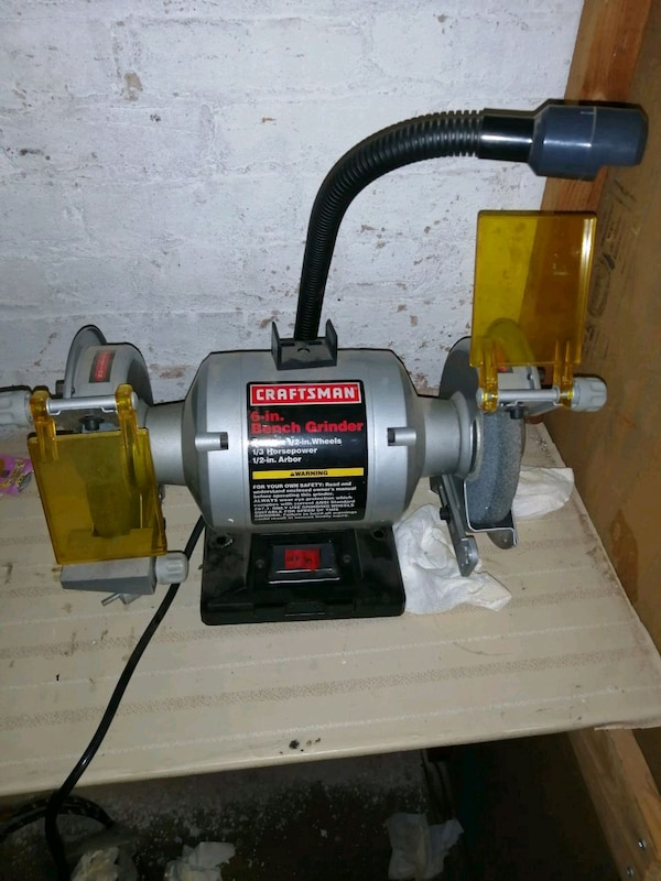 Pleasant Craftsman 6 In Bench Grinder Alphanode Cool Chair Designs And Ideas Alphanodeonline