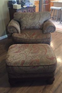 Chair with Ottoman Reno, 89521