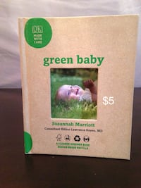 Green Baby by Susannah Marriott book