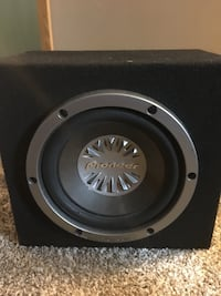 Black and gray pioneer subwoofer Franklinville, 08322