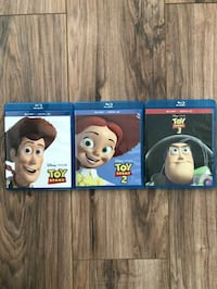 Toy Story bundle Blue Ray.