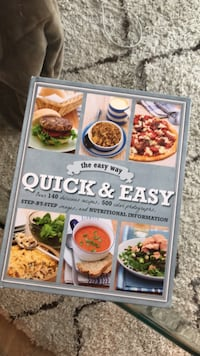 Cook book - perfect condition (gift idea)  New Westminster, V3L