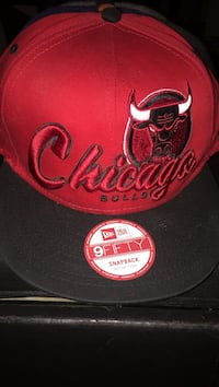 Red and black Chicago Bulls snap back  Beloit, 53511