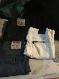 Blue and white denim jeans Baltimore, 21224