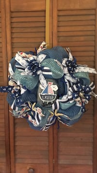 Patriotic Nautical Wreath