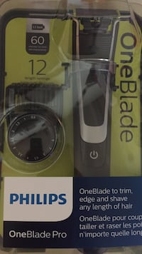 Gray and black philips oneblade pro shaver pack Vancouver