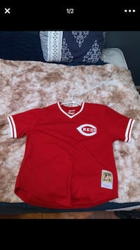 Cincinnati Reds #5 BENCH Jersey  Parma Heights, 44130