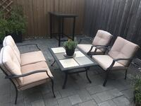 Patio Set - 4 Chairs w/ Table Markham, L6C