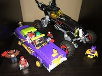 LEGO batmobile and joker low rider complete with boxes Medicine Hat, T1A 7C2
