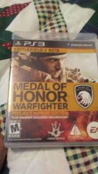 Sony PS3 Medal of Honor game case Toone, 38381