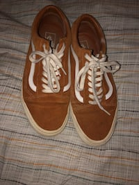 pair of brown Vans low-top sneakers Silver Spring, 20910