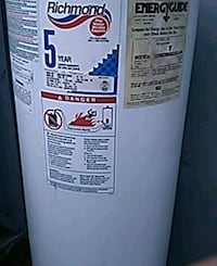 Water heater 30 gallon Paramount, 90723