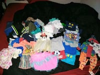 toddler's assorted clothes McQueeney