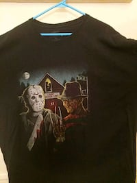 FREDDY VS JASON 3X T SHIRT