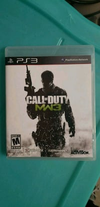 Call of Duty MW3 PS3 game case Solano County, 94535