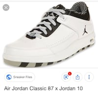 Asking 100.00for these nice classic 87 Jordan's almost brand new Newark, 19713