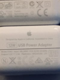 Apple 12W USB power adapter - mint condition