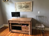 Computer Desk with Drop Leaves Providence