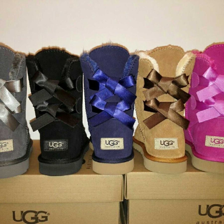 Uggs Double Bow