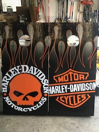 Custom made Harley Davidson cornhole set York, 17408