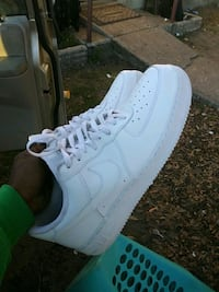 pair of white Nike Air Force 1 low Bartow, 33830