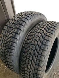 2 Winterforce 225/70/16 like new winter tires