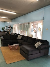 Brand New Big 3pc U Shaped Sectional Name Brand $1199, No Credit Needed Finance Available 2347 mi