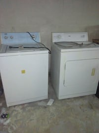 white washer and dryer set 424 mi