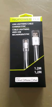 USB LIGHTNING CABLE CHARGE/SYNC Mississauga, L5N 3N5