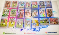 Giant Football Colored Parallel/Insert/RC Lot Olney, 20832