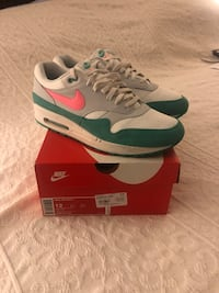 Nike Air Max 1 Size 12 White/ pink/ green Denver, 80211