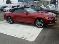 red Ford Mustang GT convertible Vancouver, V6P 6J6