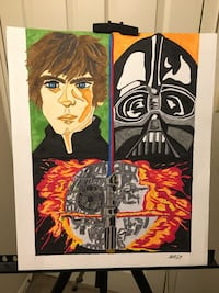 My StarWars Artwork selling this for $45.00. Local meetup only Towson Baltimore, 21234
