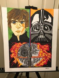 My StarWars Artwork selling this for $45.00. Local meetup only Towson