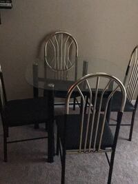 black metal framed dining set Upper Marlboro, 20772