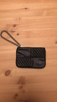 Express  black leather wristlet Occoquan, 22192