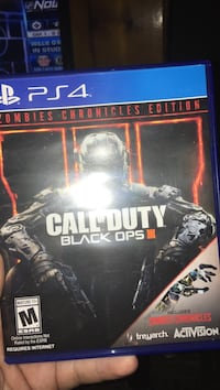 Call of Duty Black Ops 3 PS4 game case Apollo, 15613