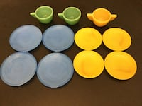 Vintage Kid's Play Dishes