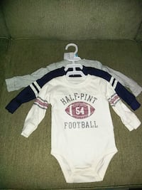 BNWT 3 pack long sleeve baby tops Pickering, L1X 1P5