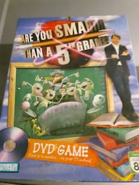 Are you smarter than a 5th grader DVD game Ontario, M1P 2W4