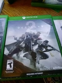 Destiny Xbox One game case 913 mi