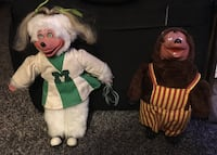 Vintage Showbiz Pizza dolls!! Elkhart, 46516