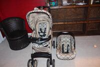 baby's black and gray travel system Herndon, 20171