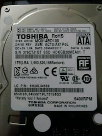 Toshiba 1tb 6gb/s hd 1959 mi