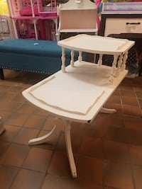 Vintage distressed side table $65 plus tax Spring Hill, 37174